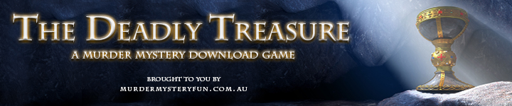 The Deadly Treasure - Murder Mystery Doenload game image
