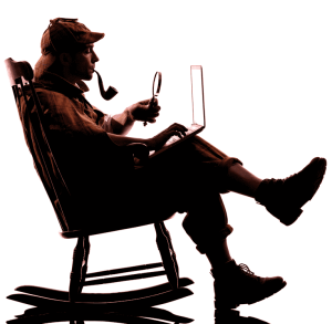 A virtual online murder mystery iamge